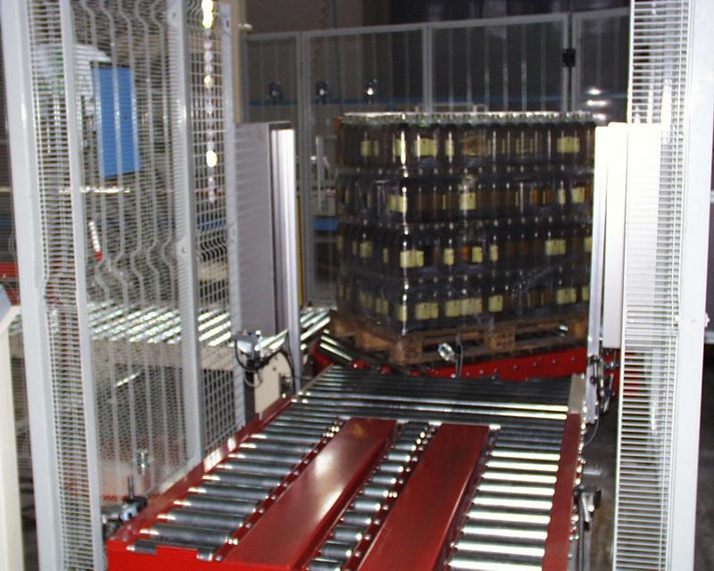 Impianto pallettizzazione per oleoficio