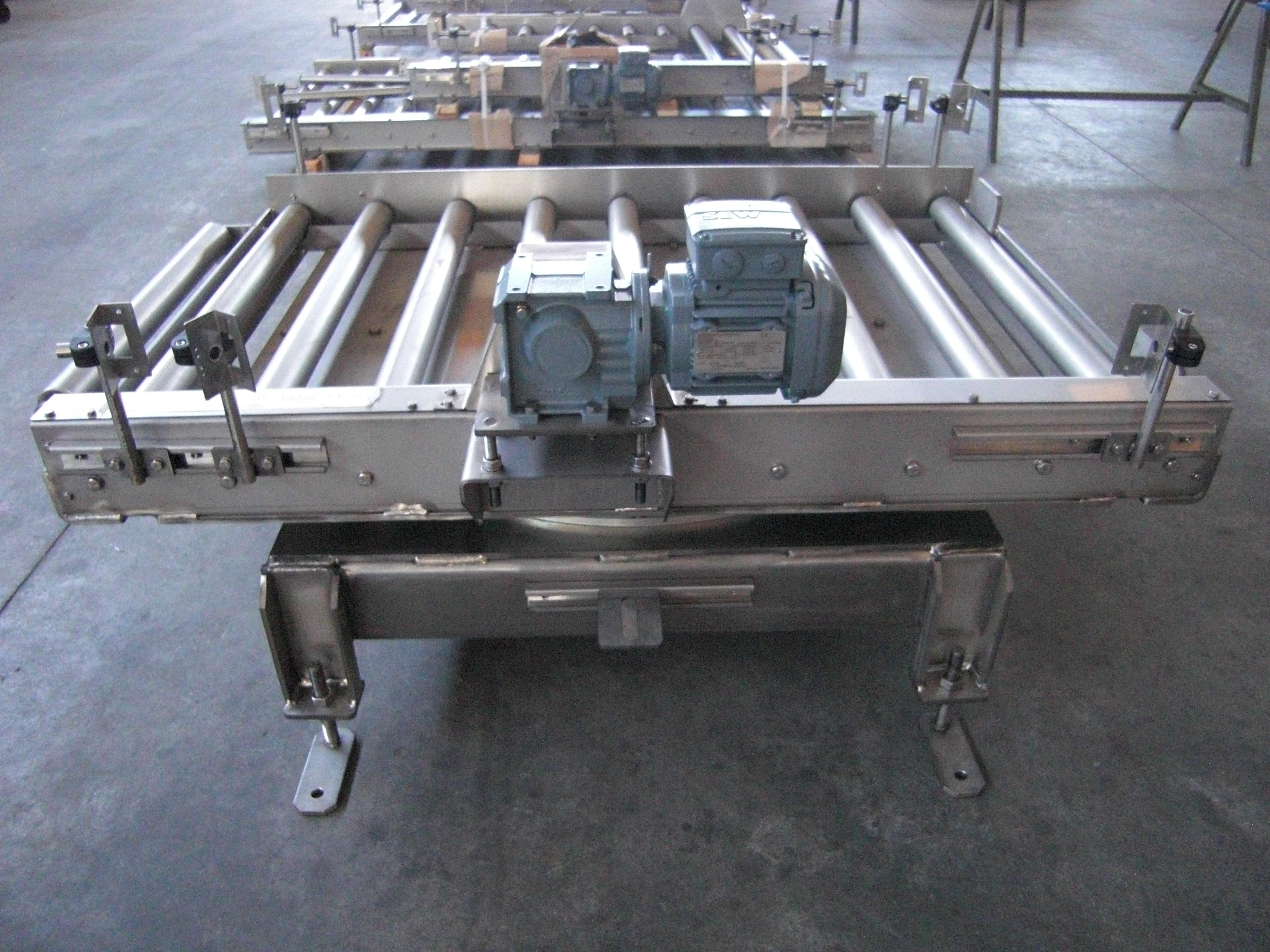 Sistemi di movimentazione  inox 316 per palett legno/plastica 800x1000 kg.1000